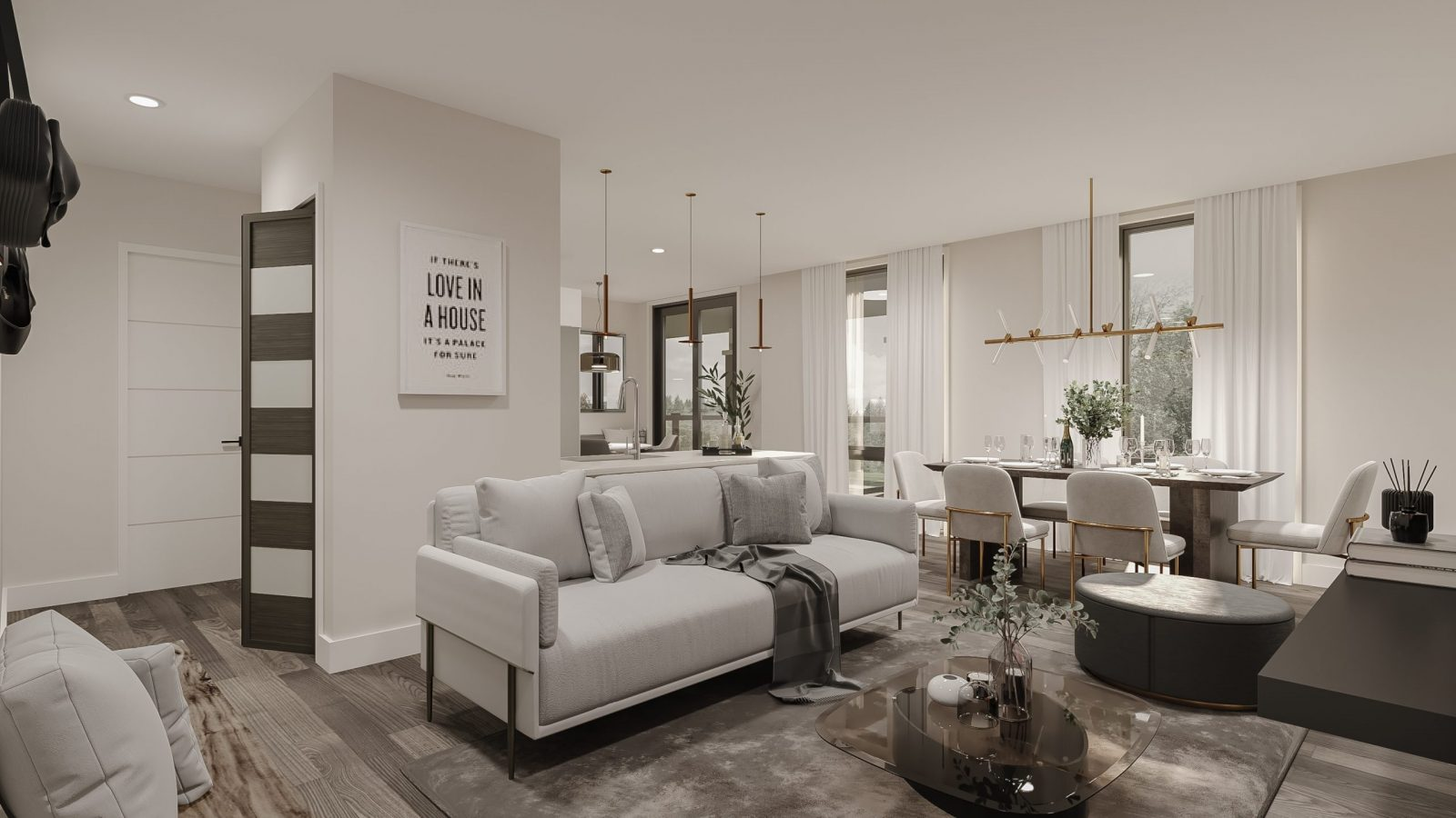 Covent Park Living Room Urban Towns by Kaneff