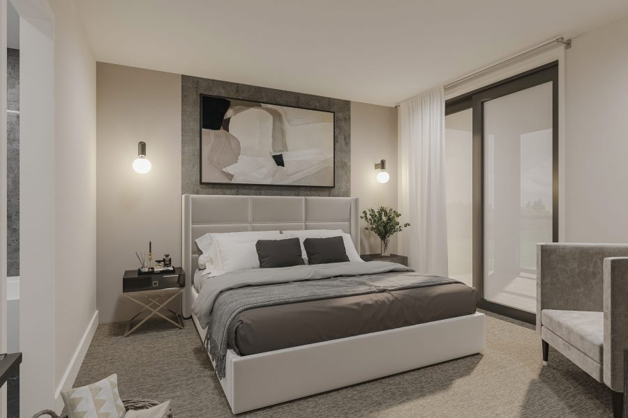 Bedroom Urban Towns by Kaneff Greens Park
