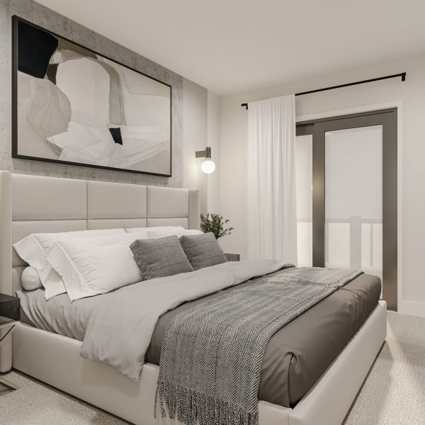 Covent Park Master Bedroom Urban Towns by Kaneff