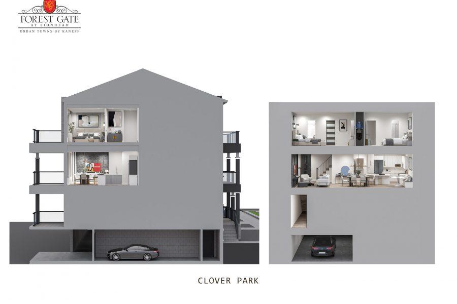 Clover Park cross section