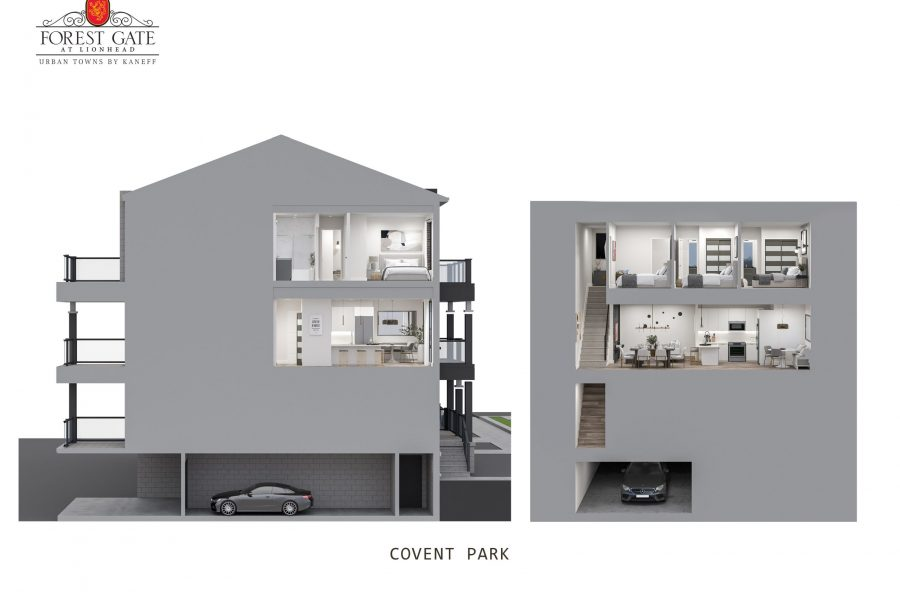 Covent Park Cross Section