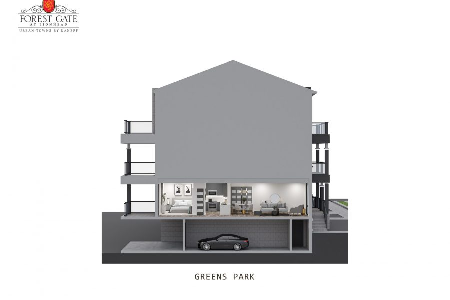Greens Park Cross Section